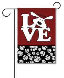 Bolo Love Dog is Good - Garden Flag - 12.5'' x 18''