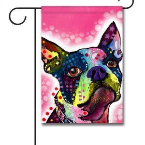Boston Terrier - Garden Flag - 12.5'' x 18''