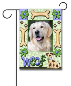 Woof- Photo Garden Flag - 12.5'' x 18''