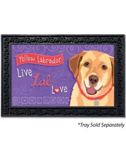 Yellow Labrador Doormat