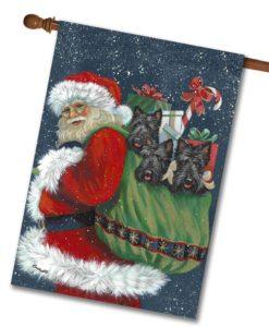 decorative art dog flags page 15 gateway lane - Decorative Christmas Flags