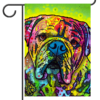 "Hey Bulldog - Garden Flag 12.5"" - 18"""