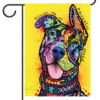 """My Favorite Breed is Pit Bull - Garden Flag 12.5"""" x 18"""""""