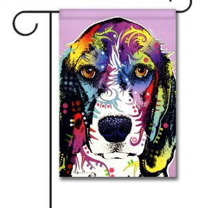 Abstract Beagle   Garden Flag   12.5u0027u0027 ...