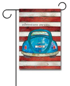 Adventure Awaits - Garden Flag - 12.5'' x 18''