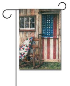 American Rocker- Garden Flag - 12.5'' x 18''