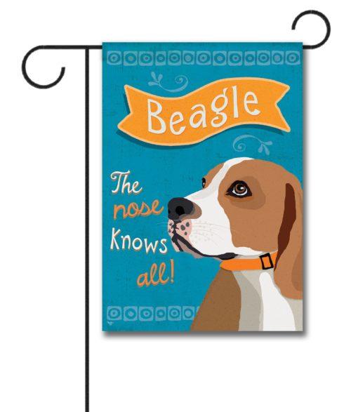 Beagle- Garden Flag - 12.5'' x 18''