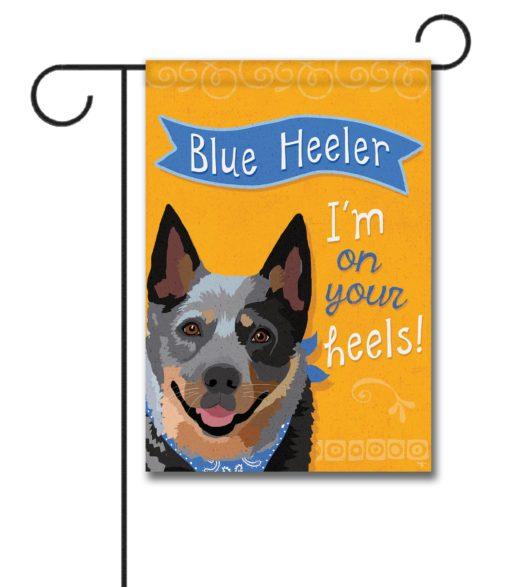 Blue Heeler- Garden Flag - 12.5'' x 18''