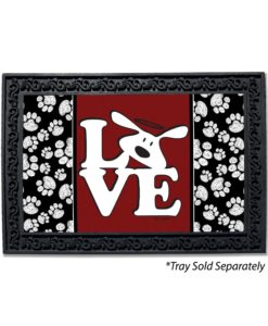 Bolo Love Dog is Good Doormat