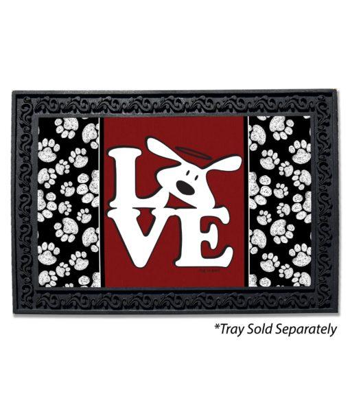 Bolo Love Dog is Good Doormat