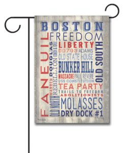 Boston Pride - Garden Flag - 12.5'' x 18''