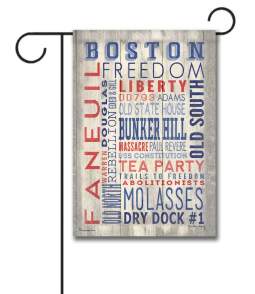 Boston Pride - Garden Flag - 12.5'' x 18''
