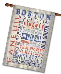 Boston Pride- House Flag - 28'' x 40''
