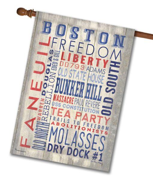 Boston Pride- House Flag - 28'' x 40''