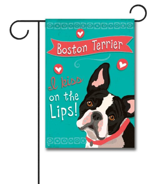 Boston Terrier- Garden Flag - 12.5'' x 18''
