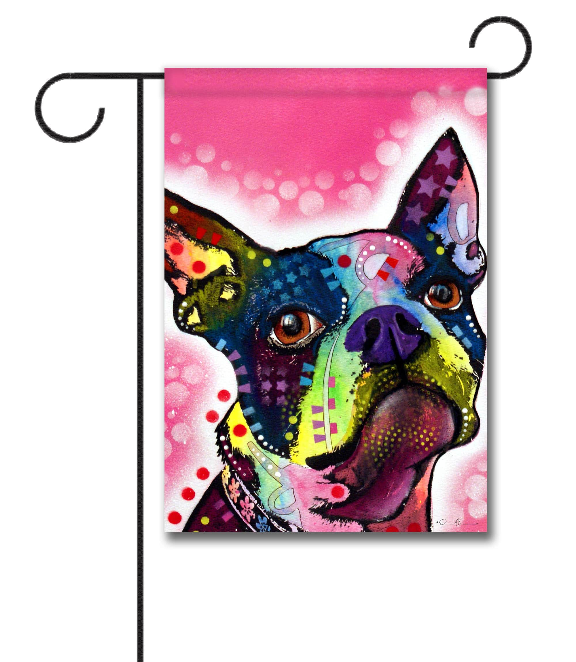 Boston Terrier U2013 Garden Flag U2013 12