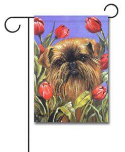 Brussells Griffon Peek-A-Boo - Garden Flag - 12.5'' x 18''