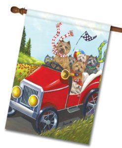 Cairn Terrier Mobile - House Flag - 28'' x 40''