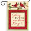 Cardinals Glory Garden Flag