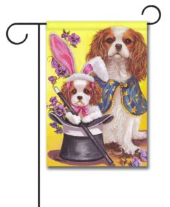 Cavalier King Charles Magic - Garden Flag - 12.5'' x 18''