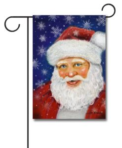 Cheerful Santa- Garden Flag - 12.5'' x 18''