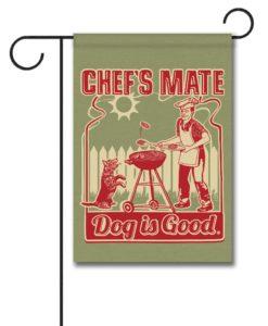 Chef's Mate - Garden Flag - 12.5'' x 18''
