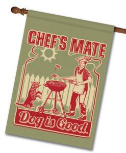 Chef's Mate - House Flag - 28'' x 40''