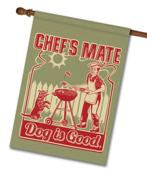 Chef's Mate - House Flag - 28'' x 40''