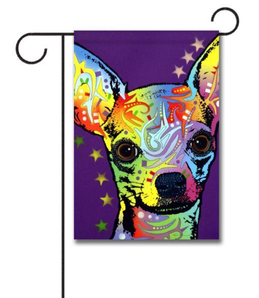 Chihuahua Superstar - Garden Flag - 12.5'' x 18''