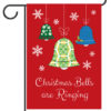 Christmas Bells are Ringing - Garden Flag - 12.5'' x 18''