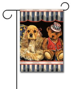 Cocker Spaniel Annie and Henrie- Garden Flag - 12.5'' x 18''