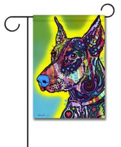 Doberman - Garden Flag - 12.5'' x 18''