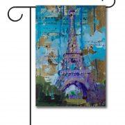 Eiffel Tower   Garden Flag   12.5u0027u0027 ...
