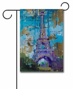 Eiffel Tower - Garden Flag - 12.5'' x 18''