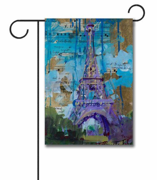 Eiffel Tower - Garden Flag - 12.5'' x 18''