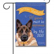 German Shepherd  Garden Flag   12.5u0027u0027 ...