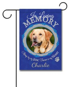 In Loving Memory - Pet - Photo Garden Flag - 12.5'' x 18''