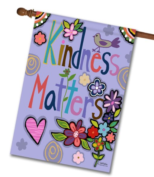 Kindness Matters - House Flag - 28'' x 40''