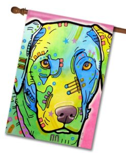 Labrador- House Flag - 28'' x 40''