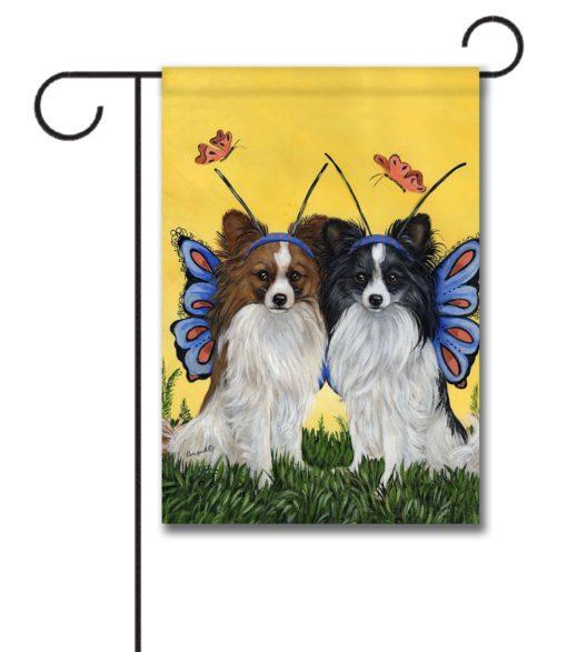 Papillon Butterflies - Garden Flag - 12.5'' x 18''