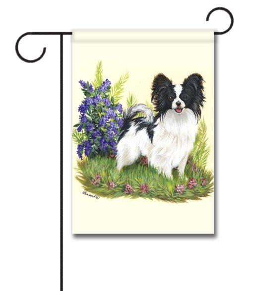 Papillon Sweet Pea - Garden Flag - 12.5'' x 18''