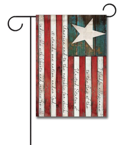 Pledge of Allegiance - Garden Flag - 12.5'' x 18''