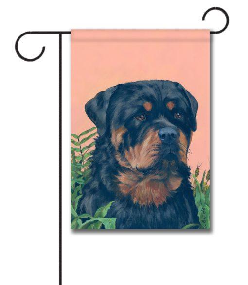 Rottweiler - Garden Flag - 12.5'' x 18''