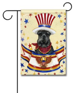 Scottish Terrier USA- Garden Flag - 12.5'' x 18''