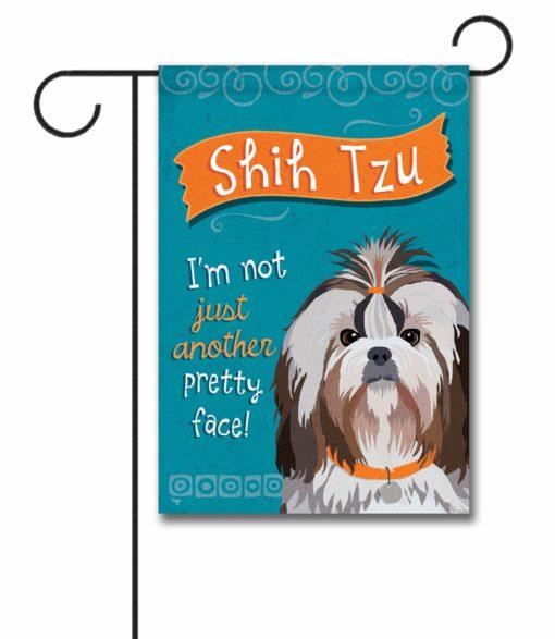 Shih Tzu- Garden Flag - 12.5'' x 18''