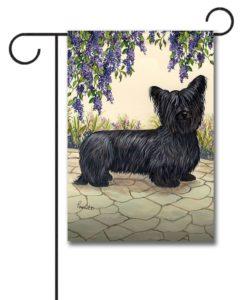 Skye Terrier Garden - Garden Flag - 12.5'' x 18''