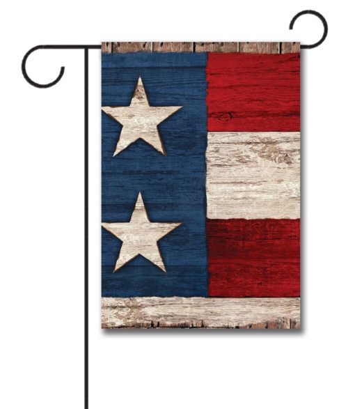 Two Star - Garden Flag - 12.5'' x 18''