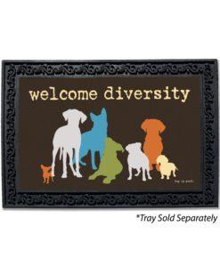 Welcome Diversity Doormat