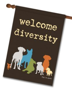 Welcome Diversity - House Flag - 28'' x 40''