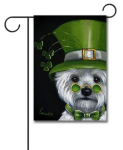 West Highland Terrier Elder Lep - Garden Flag - 12.5'' x 18''